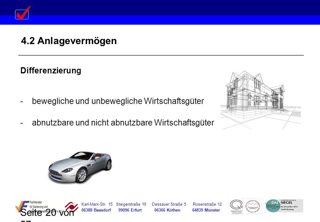 Karl-Marx-Str. 15 Steigerstraße 19 Dessauer Straße 5 Rosenstraße 12 06388 Baasdorf 99096 Erfurt 06366 Köthen 64839 Münster Seite 20 von 57 4.2 Anlagev
