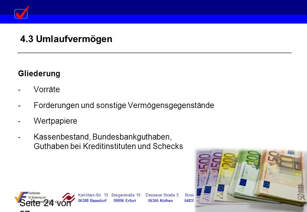 Karl-Marx-Str. 15 Steigerstraße 19 Dessauer Straße 5 Rosenstraße 12 06388 Baasdorf 99096 Erfurt 06366 Köthen 64839 Münster Seite 24 von 57 4.3 Umlaufv
