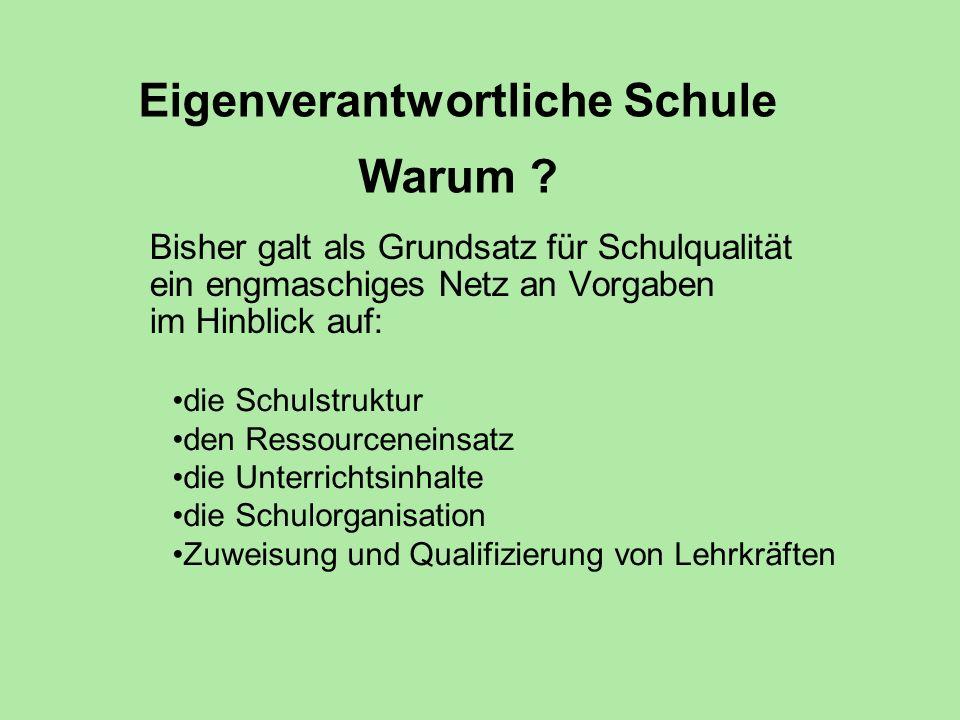 Formen schulinterner (Mit-) Verantwortung Die Schulverfassung (Die AG sieht 3 mögliche Modelle) 1.