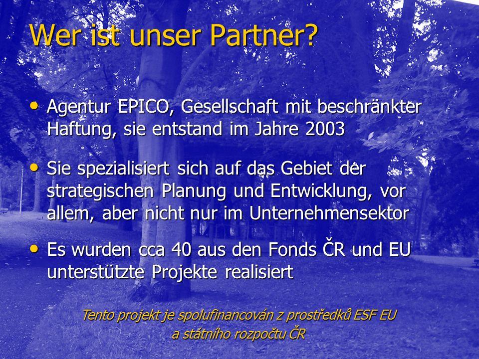 Wer ist unser Partner.