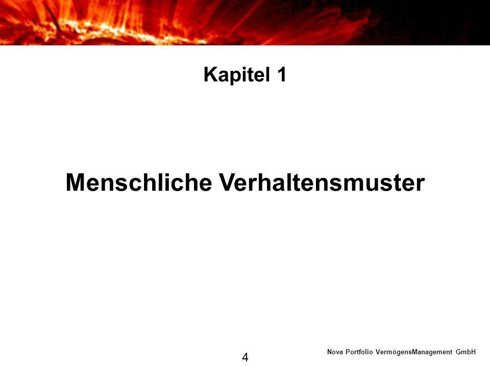 Nova Portfolio VermögensManagement GmbH Kapitel 2 Quelle: ifo Institut, eigene Darstellung