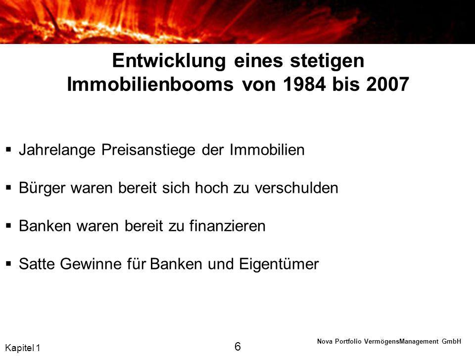 Nova Portfolio VermögensManagement GmbH Die EZB als Retter.