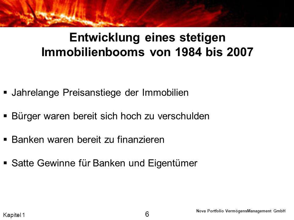 Nova Portfolio VermögensManagement GmbH Kapitel 2 Zinskonvergenz 17