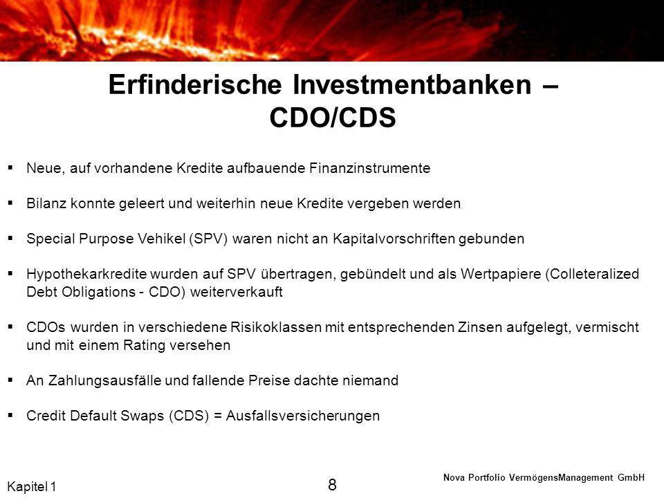 Nova Portfolio VermögensManagement GmbH Griechische Tragödie Es gibt keinen Ausweg – alle Lösungen sind schlecht Negative Konsequenzen Kapitel 2 19