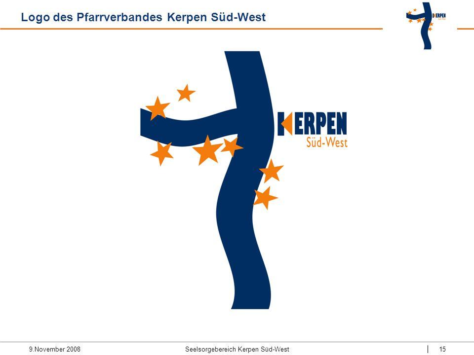 9.November 2008 Seelsorgebereich Kerpen Süd-West15 Logo des Pfarrverbandes Kerpen Süd-West