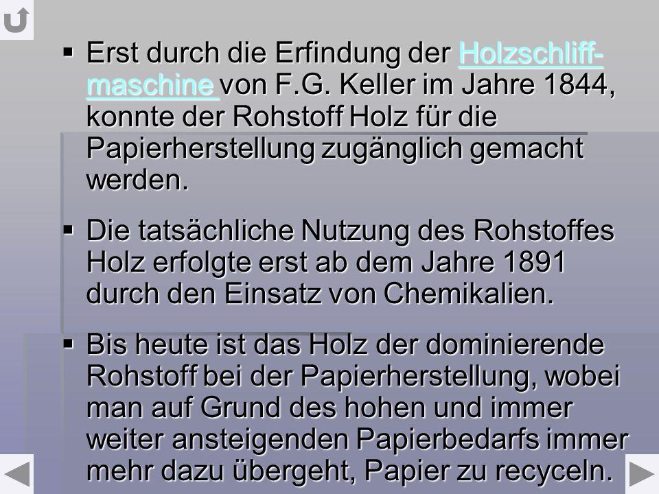 Holzschliffmaschine http://www.buero-best/papierlexikon.de