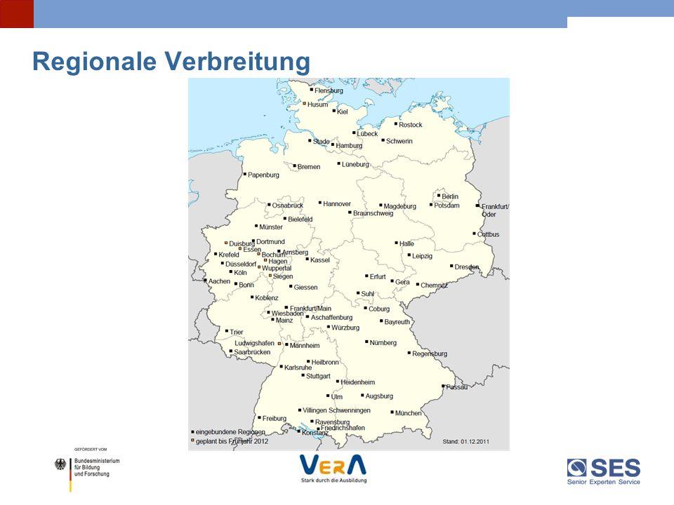 25 Initiatoren Die Initiative VerA wird gemeinsam getragen mit dem Deutschen Handwerkskammertag (DHKT) Deutschen Industrie- und Handelskammertag (DIHK) Bundesverband der Freien Berufe (BFB) VerA wird im Rahmen der Initiative Bildungsketten vom Bundesministerium für Bildung und Forschung (BMBF) gefördert.