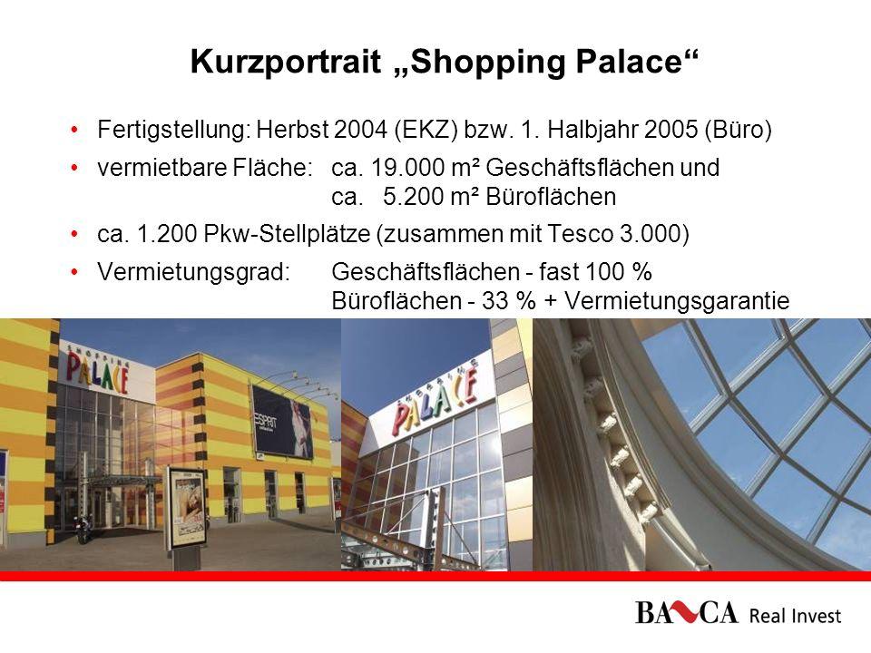 08.03.20069 Die Besonderheiten des Shopping Palace hochmodernes Einkaufszentrum in Bratislava mit einzigartigen Expansions- und Ausbaumöglichkeiten Frequenzbringer: Größter Hypermarket der Slowakei (Tesco) mit rd.