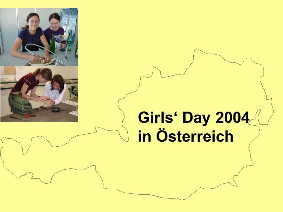 Girls Day 2004 in Österreich
