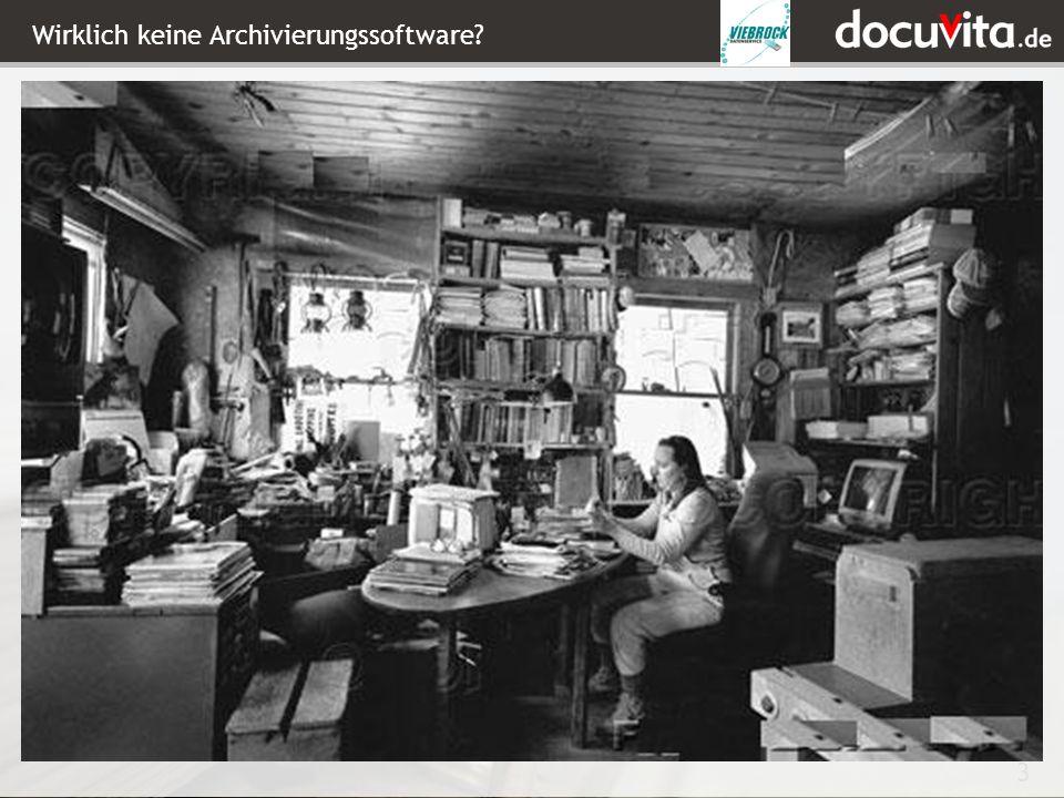 3 Wirklich keine Archivierungssoftware?