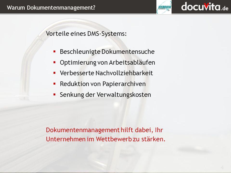 4 Warum Dokumentenmanagement.
