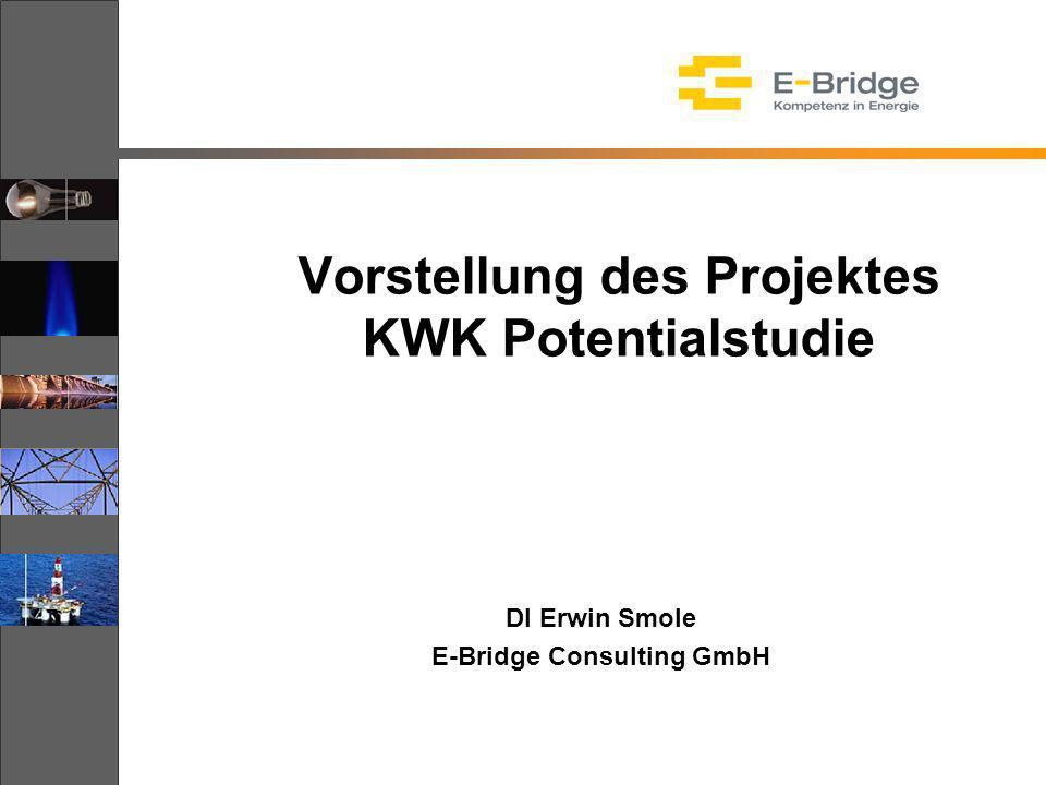 Vorstellung des Projektes KWK Potentialstudie DI Erwin Smole E-Bridge Consulting GmbH