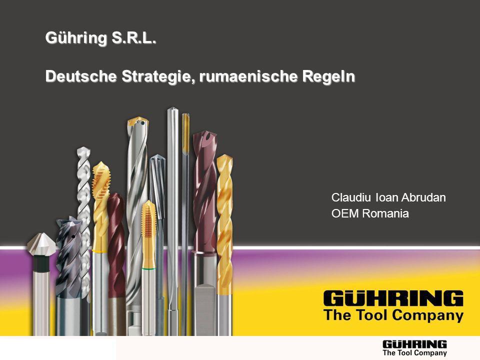 EMO 2009 - Milano Claudiu Ioan Abrudan OEM Romania Gühring S.R.L. Deutsche Strategie, rumaenische Regeln