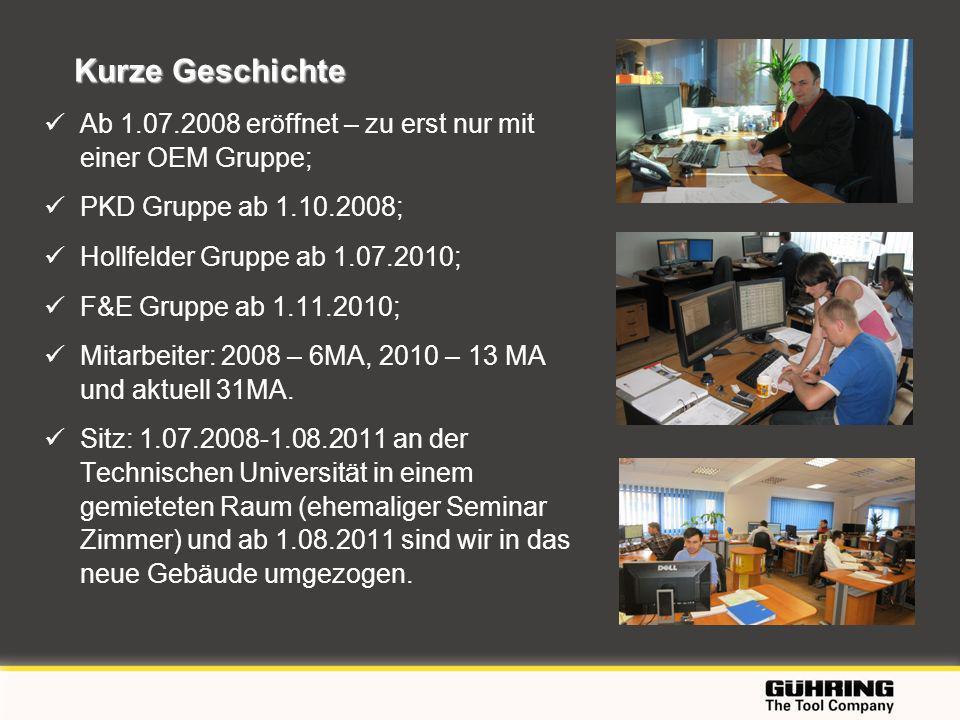 EMO 2009 - Milano Kurze Geschichte Ab 1.07.2008 eröffnet – zu erst nur mit einer OEM Gruppe; PKD Gruppe ab 1.10.2008; Hollfelder Gruppe ab 1.07.2010;
