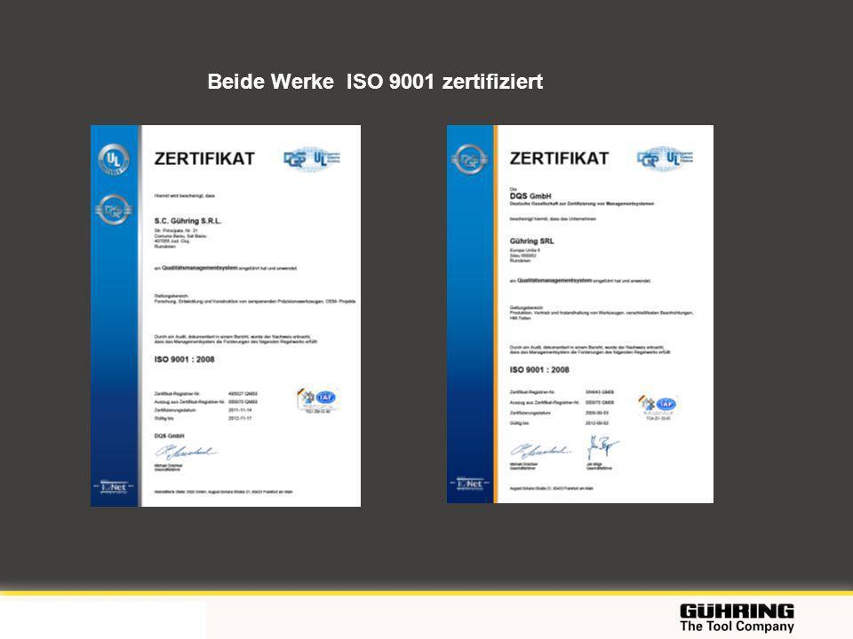 EMO 2009 - Milano Beide Werke ISO 9001 zertifiziert