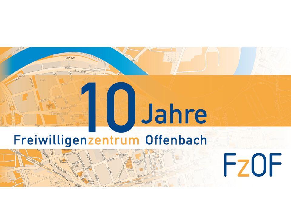 Wir feiern 2008 1. Marktplatz Stadt und Kreis Offenbach Neue Formate in der Engagementlandschaft