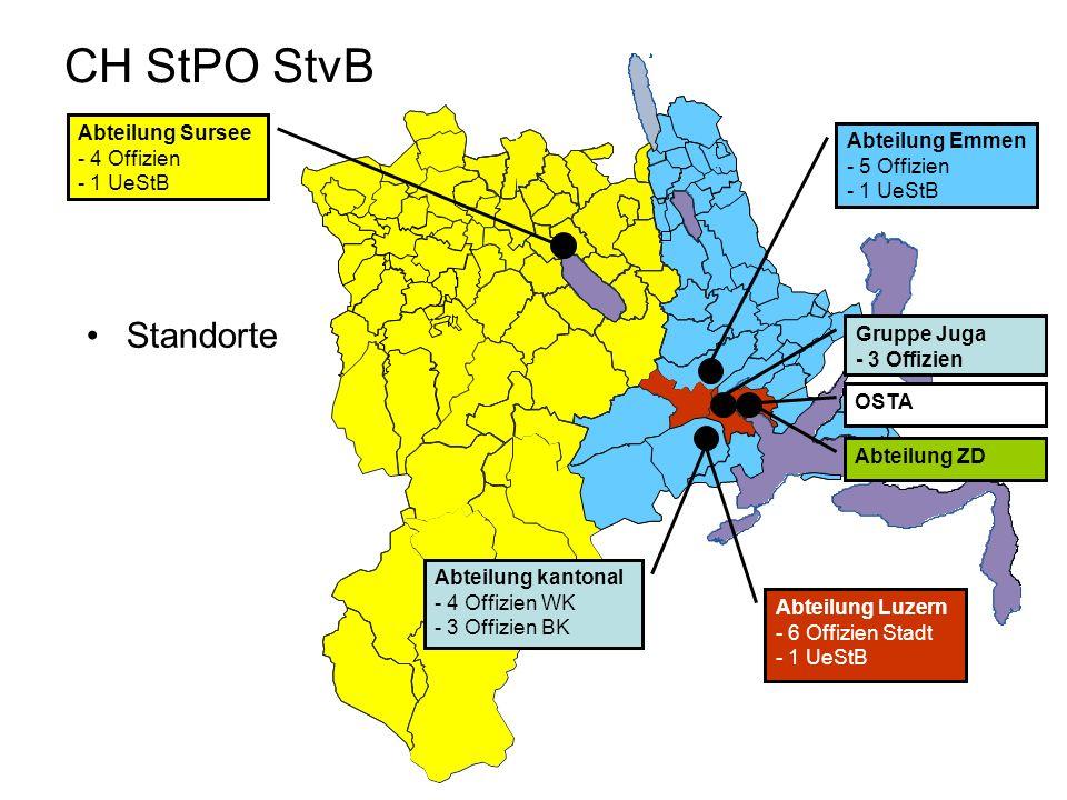 CH StPO StvB Standorte