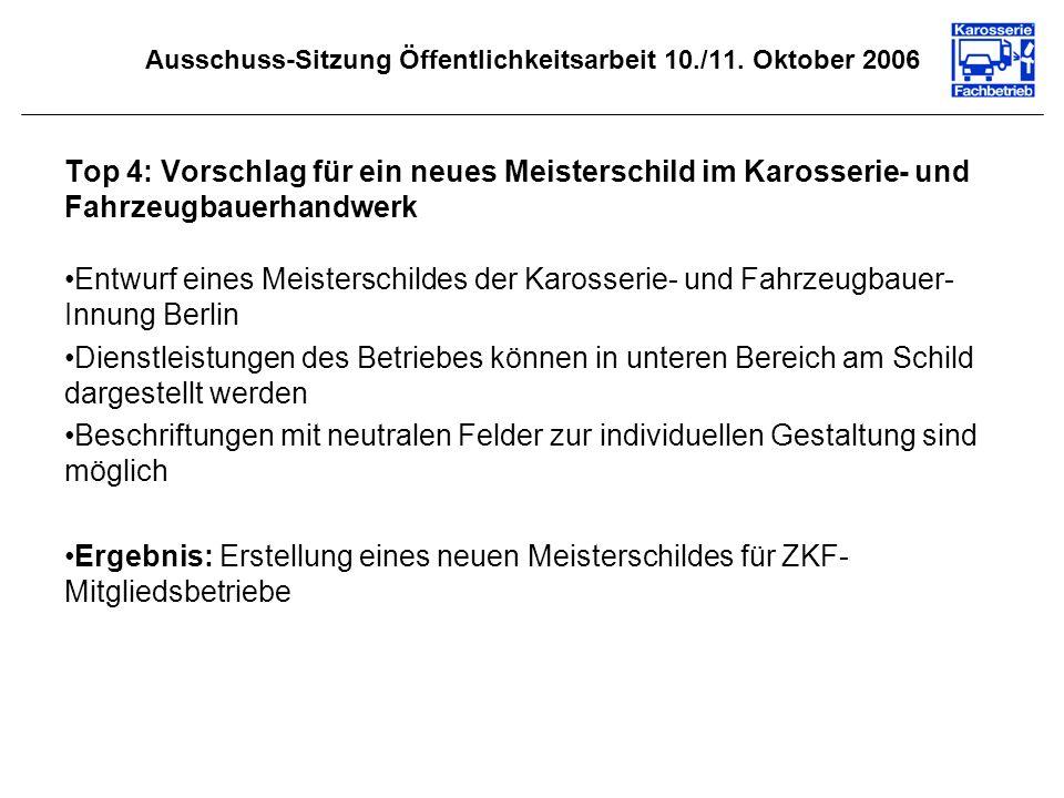Ausschuss-Sitzung Öffentlichkeitsarbeit 10./11.