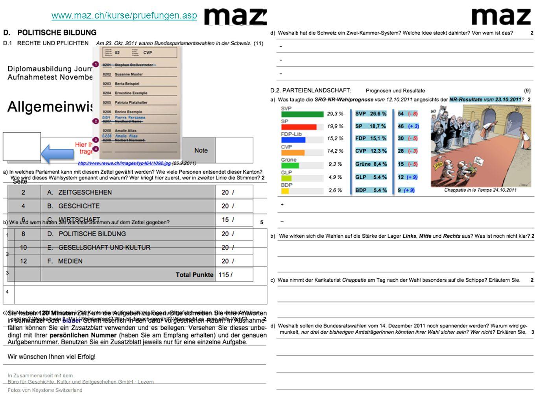 www.maz.ch/kurse/pruefungen.asp