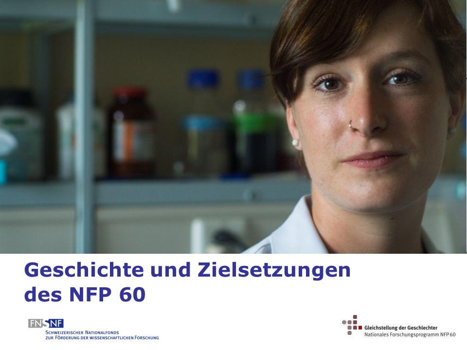 Geschichte und Zielsetzungen des NFP 60