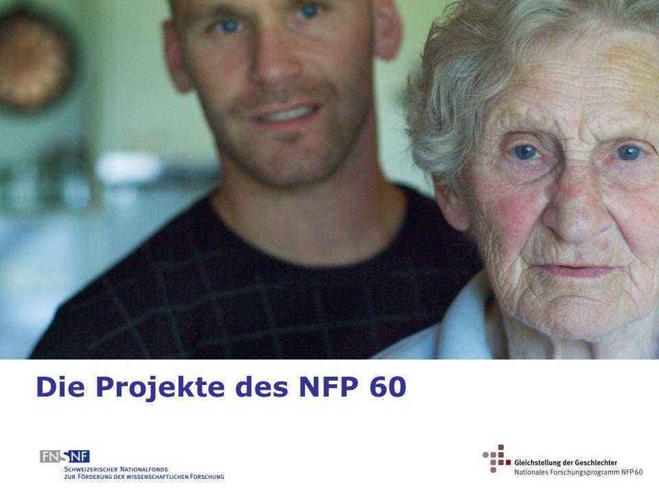 Die Projekte des NFP 60