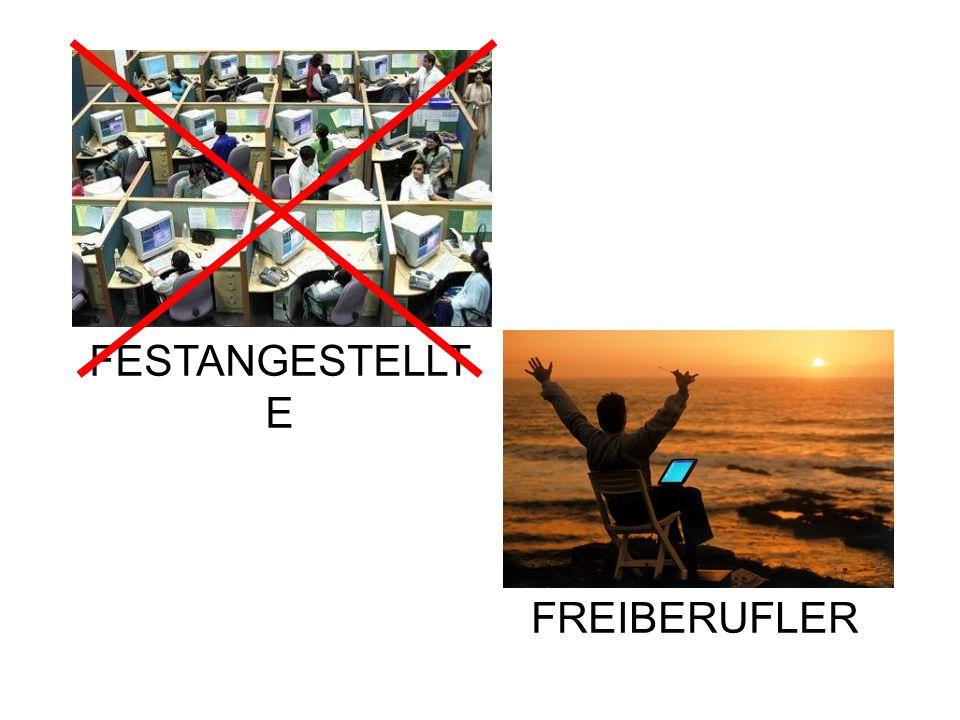 FESTANGESTELLT E FREIBERUFLER