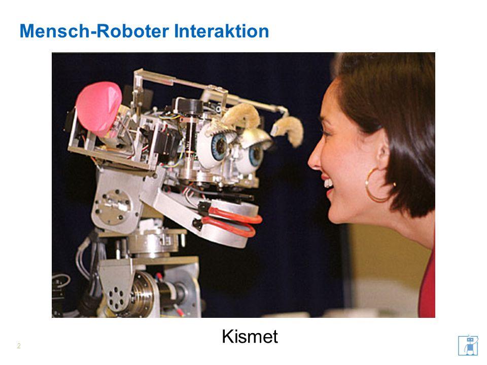 Mensch-Roboter Interaktion 2 Kismet