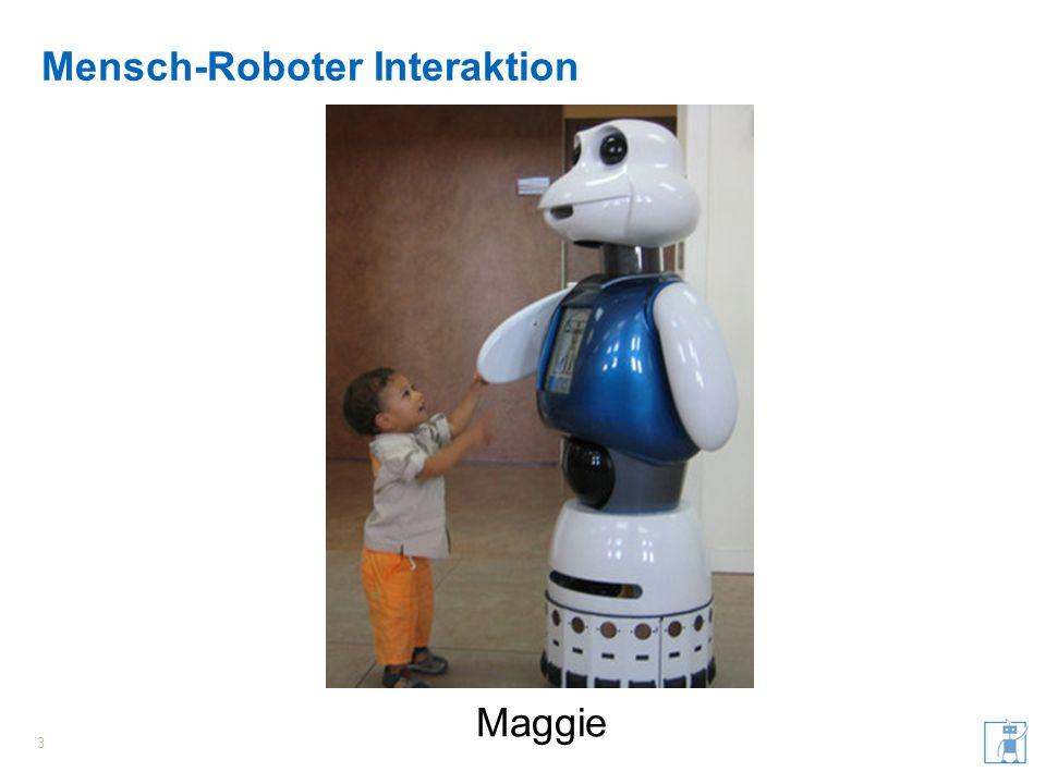 Mensch-Roboter Interaktion 3 Maggie