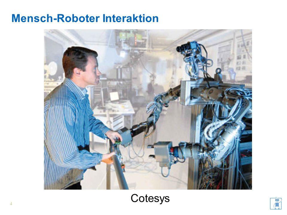 Mensch-Roboter Interaktion 5 Jahir
