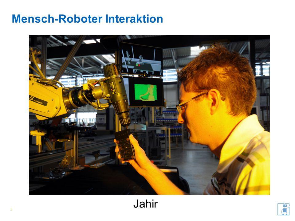 Mensch-Roboter Interaktion 6 James