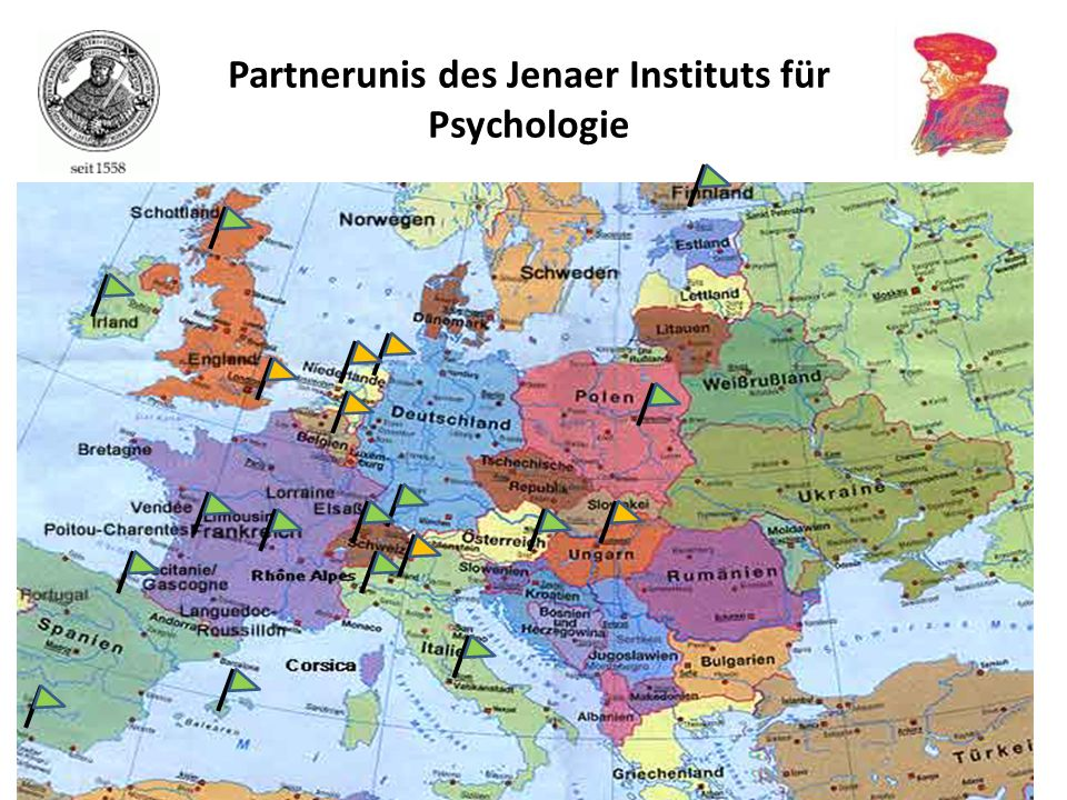 Partnerunis des Jenaer Instituts für Psychologie