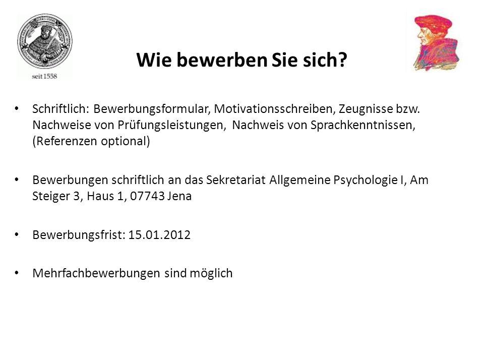 Studieren Im Ausland Jürgen M. Kaufmann Institut Für Psychologie