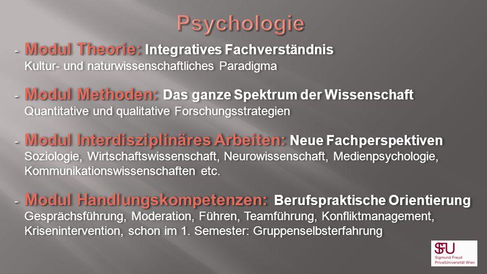 - Modul Theorie: - Modul Theorie: Integratives Fachverständnis Kultur- und naturwissenschaftliches Paradigma - Modul Methoden: - Modul Methoden: Das g