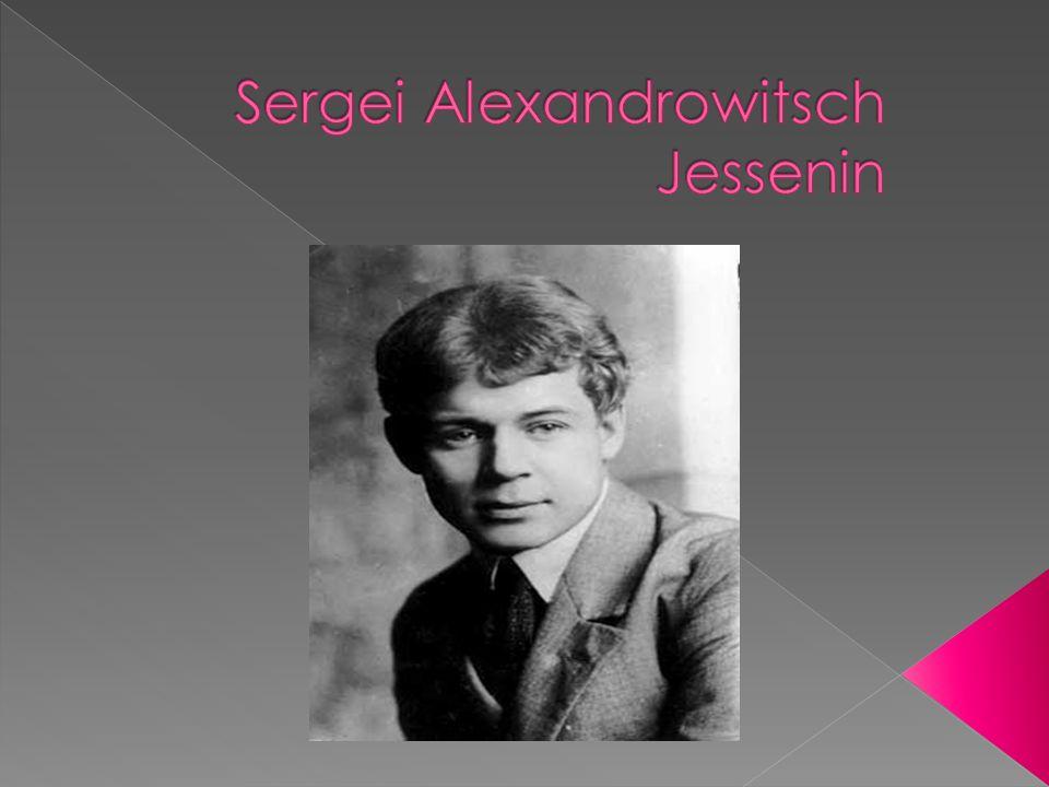 Geboren in der Provinz Dorf Konstantinowskij Rjasan in eine Bauernfamilie, Vater, Alexander Nikititsch Jessenin (1873 – 1931), ist seine Mutter Prinzessin Tatiana Titova (1875-1955).