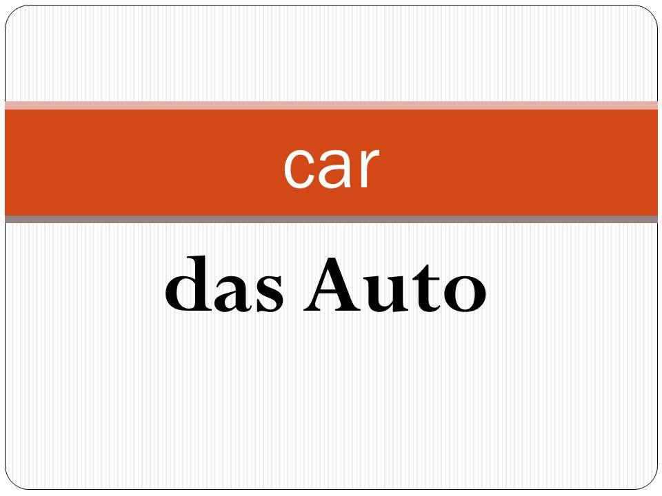 das Auto car