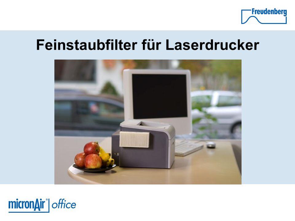 Für gute Luft im Büro Der micronAir® office Feinstaubfilter für Laserdrucker, Fax- und Kopiergeräte sorgt für gute Luft in Unternehmen, Behörden und dem Büro zu Hause.