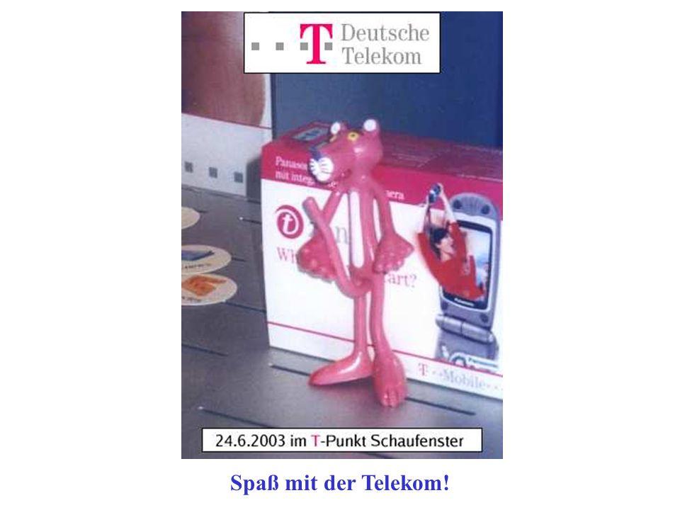 Spaß mit der Telekom!