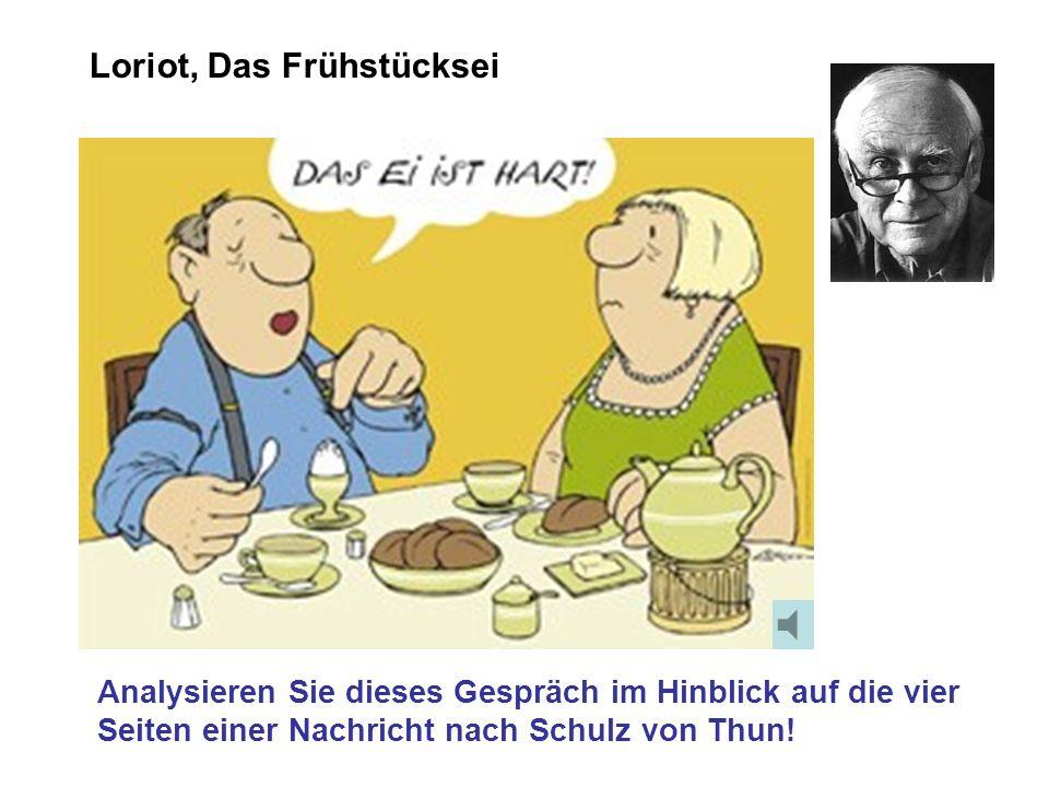 Die 4 Seiten einer Nachricht nach Schulz von Thun Wie Kommunikation funktioniert:
