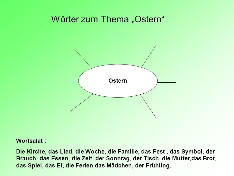 Vergleichstabelle: Ostern in Deutschland und in Russland FragenIn Deutschland In Russland 1Wann feiert man Ostern.