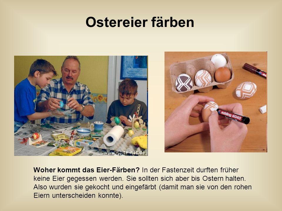 Der Osterhase Der Osterhase ist ein Hase. Die kleinen Kinder glauben, dass er ihnen zu Ostern Eier und Süßigkeiten bringt.