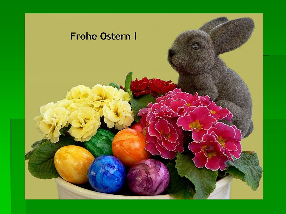 Wann ist Ostern.