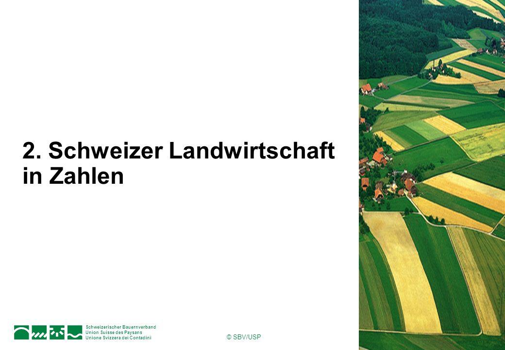 Schweizerischer Bauernverband Union Suisse des Paysans Unione Svizzera dei Contadini 12Seite © SBV/USP Landwirtschaftliche Nutzfläche 2005 Total: 1065118 ha Quelle: SBV
