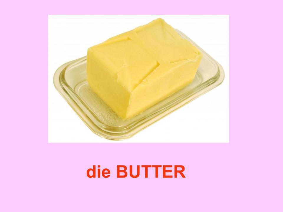 die Zutaten Vanillezucker Butter Backpulver Zucker Mehl Schokolade Eier ?