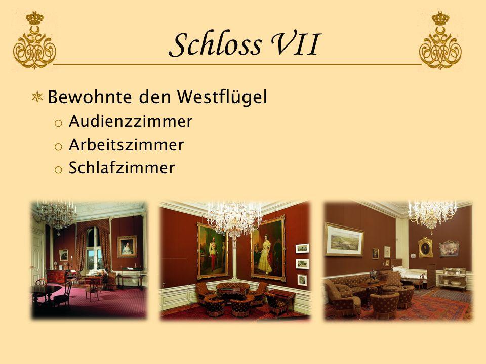 Schloss VIII 1854 Umbauarbeiten wegen Hochzeit mit Elisabeth, Herzogin von Bayern