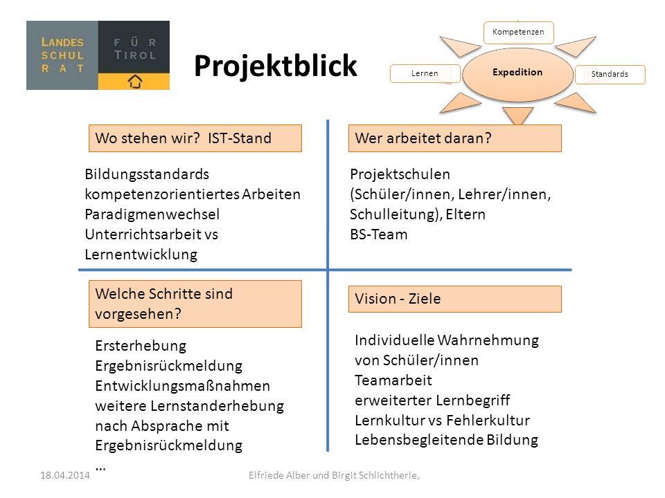 18.04.2014 Elfriede Alber und Birgit Schlichtherle,
