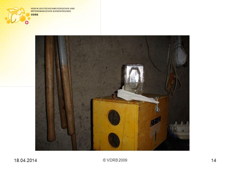 18.04.2014 © VDRB 2009 14