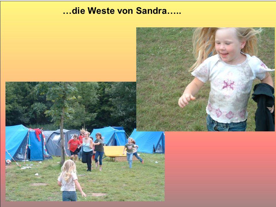 …die Weste von Sandra…..