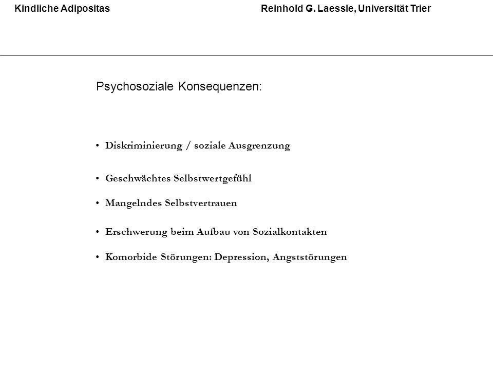Kindliche AdipositasReinhold G.