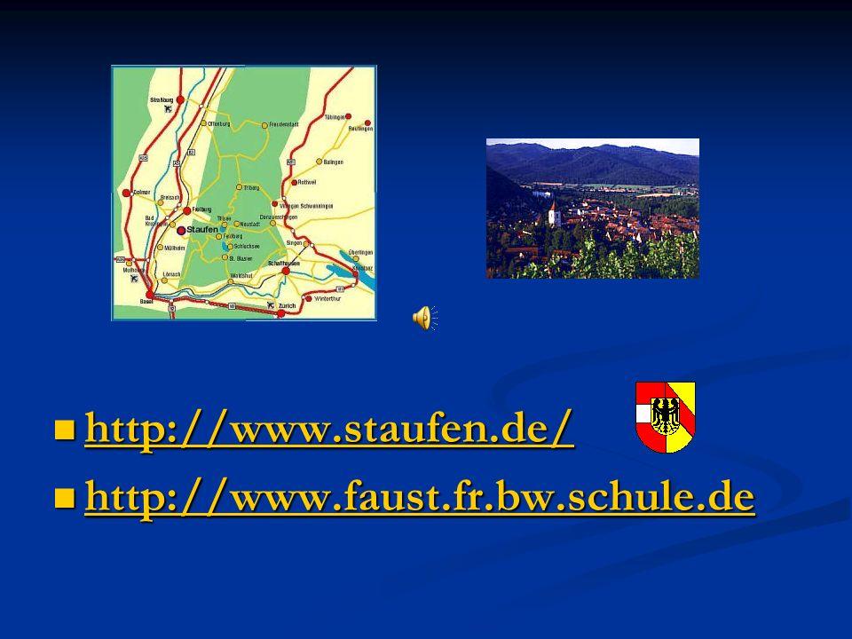 DIE SCHULE Unser erster Eindruck der Schule in Staufen war positiv.