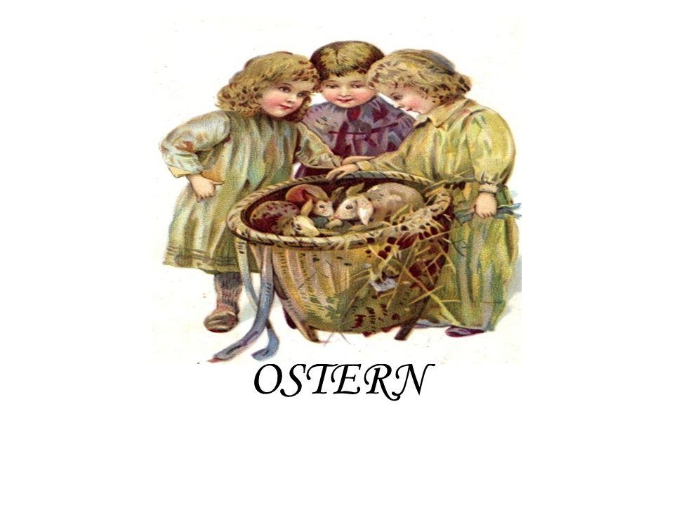 Welches Tier bringt die Ostereier.